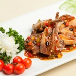 Sizzling Lamb in Black Bean Sauce